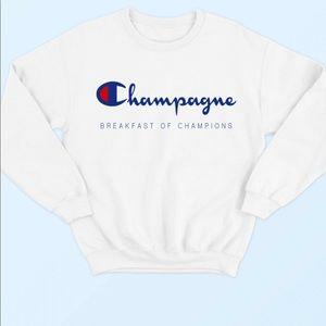 e  New! Champion Champagne sweatshirt💕